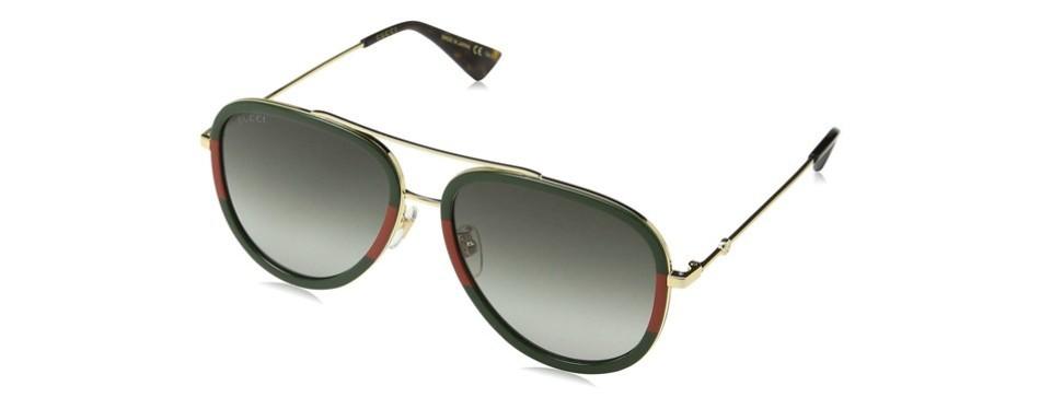 GG0062S 003 Pilot Gucci Sunglasses