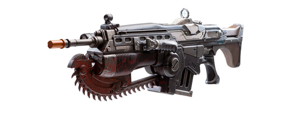 Gaming Gift - PDP Gears of War 4 Prop Replica Customized Lancer