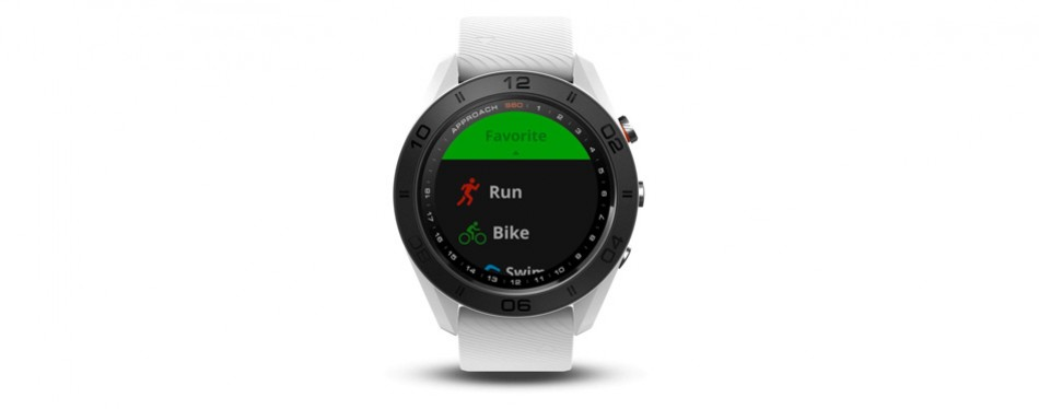 Garmin Approach S60 Golf GPS Watch (White)