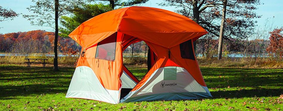 Gazelle T4 Camping Hub Tent