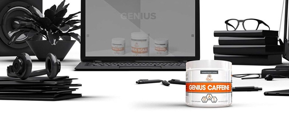 Genius Caffeine Extended Release Caffeine Pills – Supplements for Runners