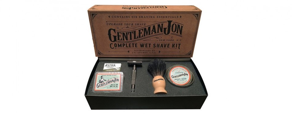 Gentleman Jon Complete Wet Shave Kit