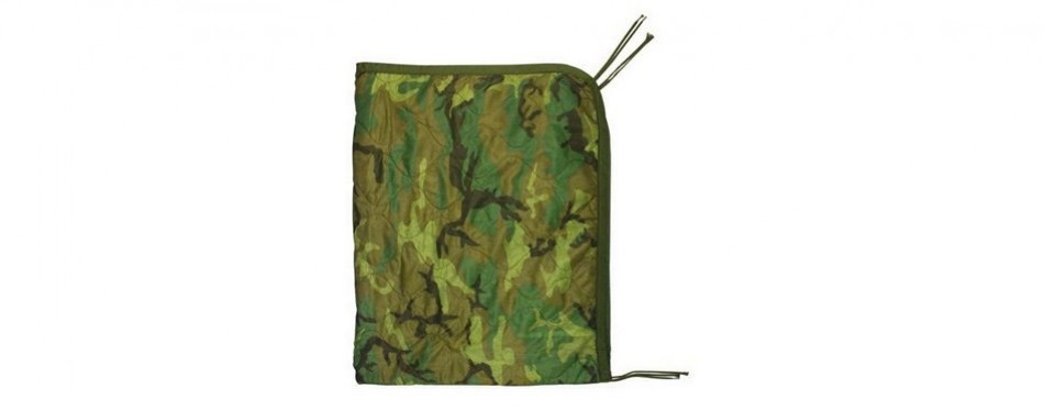 Genuine US Military All Weather Poncho Liner Camping Blanket