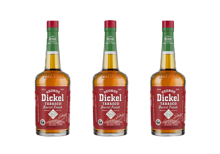 George Dickel Tabasco Brand Finish