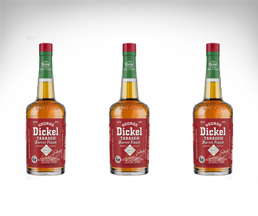 George Dickel Tabasco Brand Finish