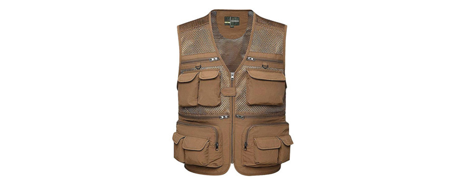 Gihuo Men's Fishing Vest