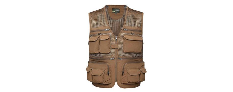 Gihuo Men's Fishing Vest