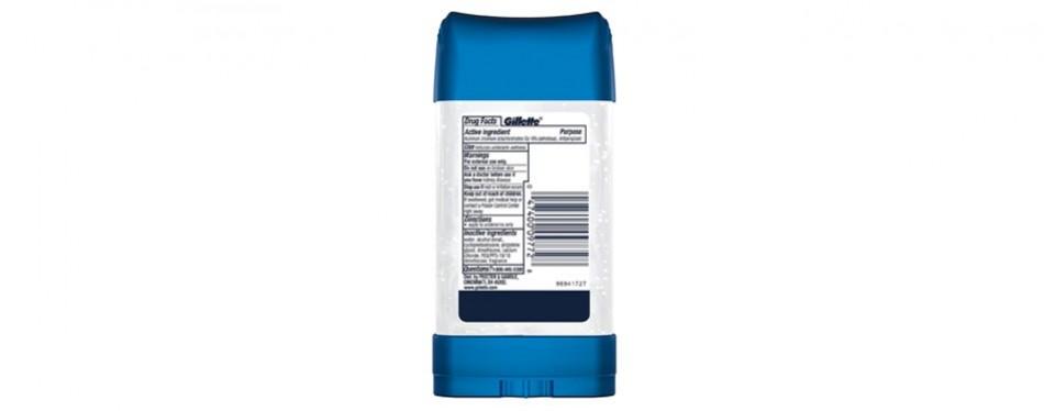 Gillette Endurance Antiperspirant