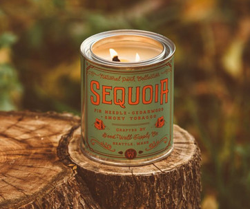 good + well supply co. sequoia national park candle