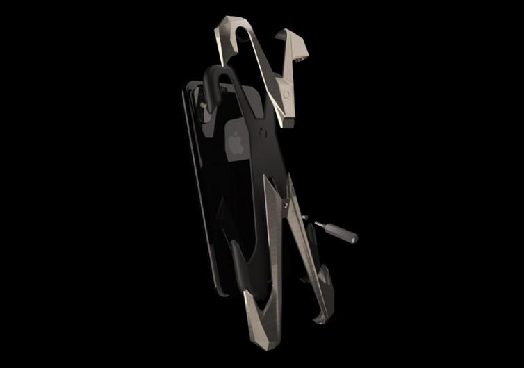 Gray Alter Ego Titainium iPhone Case