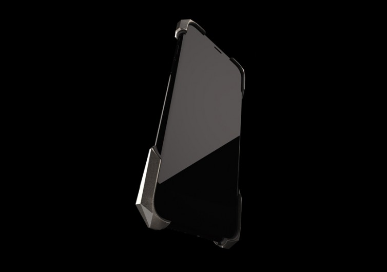 Gray Alter Ego Titainium iPhone Case