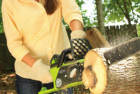 greenworks 16-inch 40v cordless chainsaw, 4.0 ah