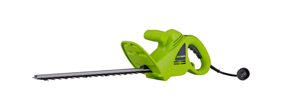 Greenworks 18-Inch 2.7 Amp Corded Hedge Trimmer