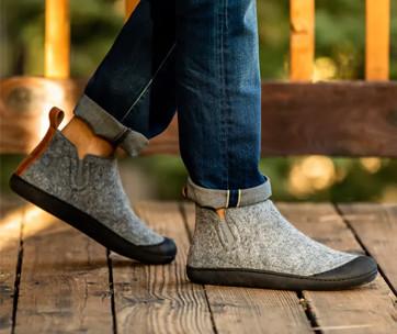 greys outdoor slipper boot