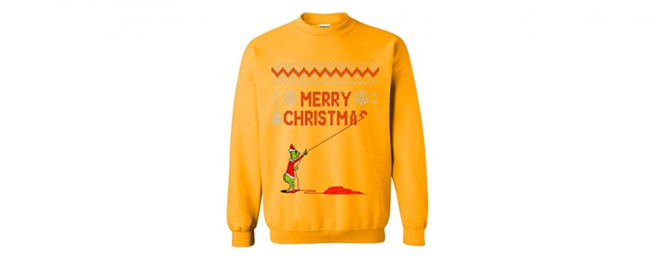 Grinch Christmas Jumper
