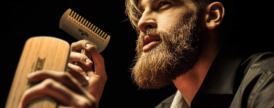 Grow a Beard Beard Brush and Comb Set