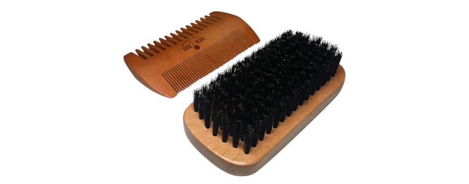 Grow a Beard Beard Brush and Comb Set for Men