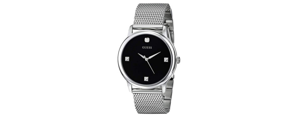 Guess Diamond Dial Mesh