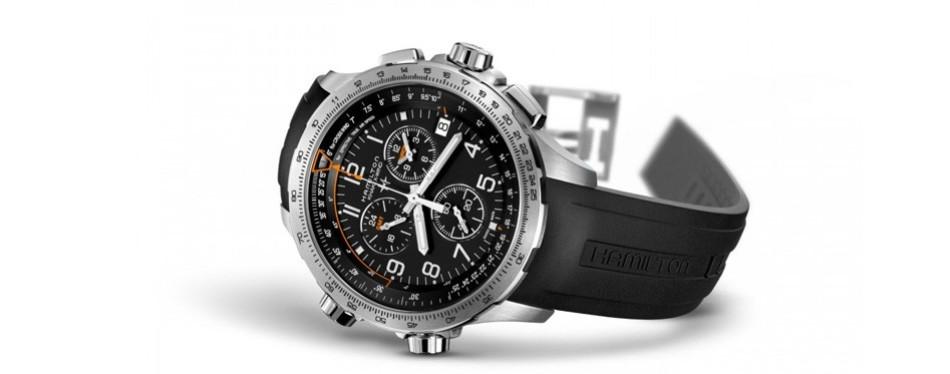 Hamilton Men's Khaki X-Wind Aviator Watch
