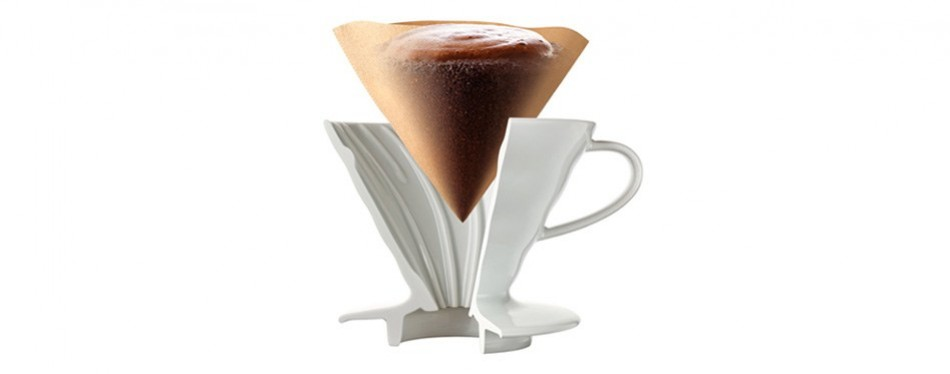 Hario V60 Ceramic Pour-Over Coffee Maker