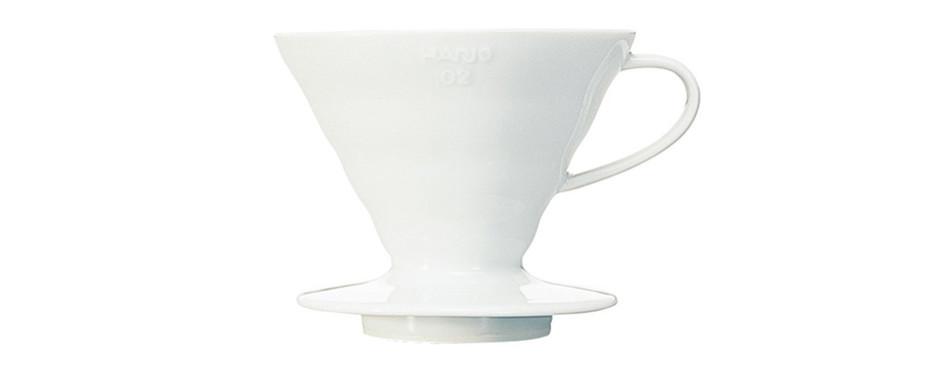 Hario V60 Ceramic Pour-Over Coffee Maker