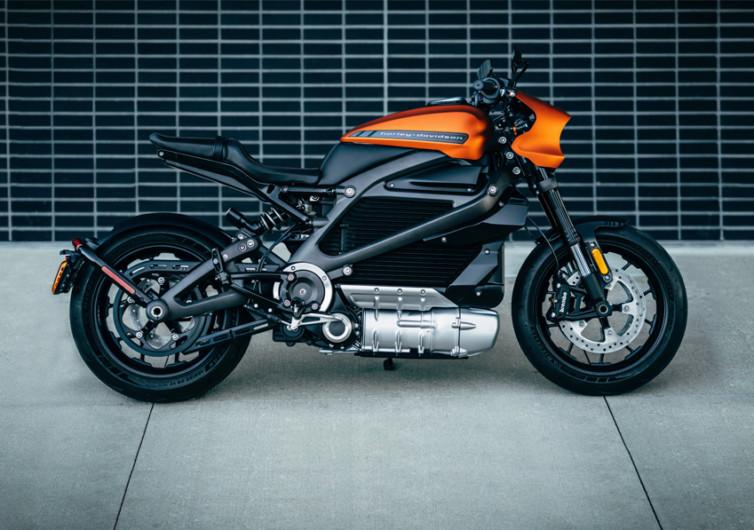 Harley Davidson LiveWire Electric Motorbike
