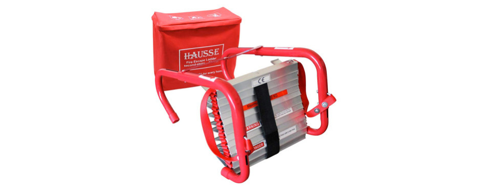 Hausse Retractable 2 Story Fire Escape Ladder
