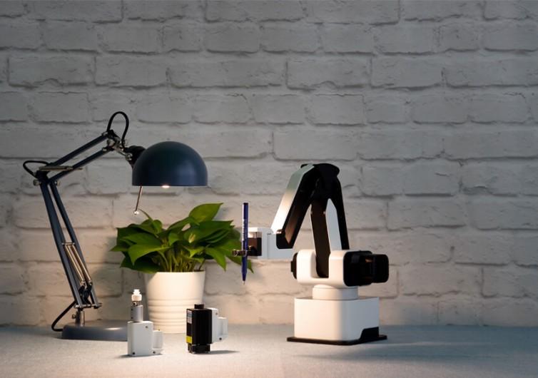 Hexbot Modular Desktop Robot Arm