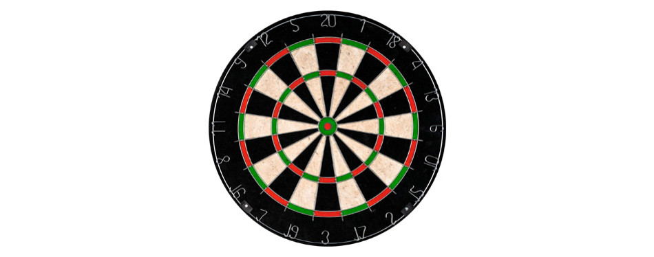 Hey! Play! TG Champion Tournament Bristle Dartboard