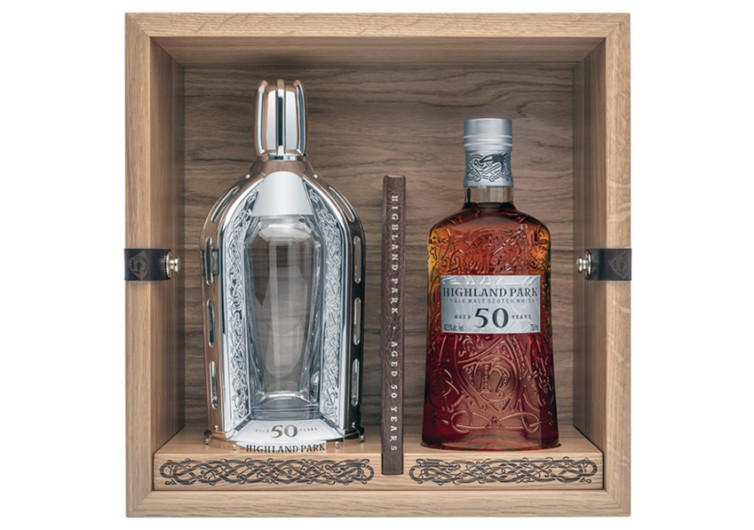 Highland Park 50 Year Old Whiskey