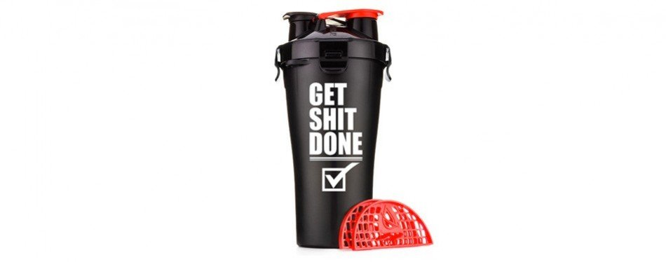 HydraCup – 28oz Dual Shaker Bottle