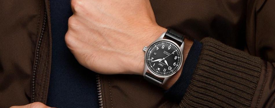 IWC Men's Quartz Stainless Steel Watch