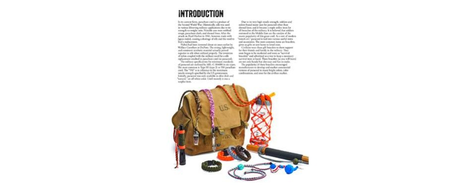 Instructions for Survival Bracelets and Other DIY Projects, Joel Hooks