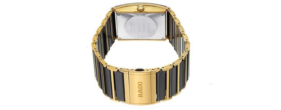 Integral Analog Display Square Watch