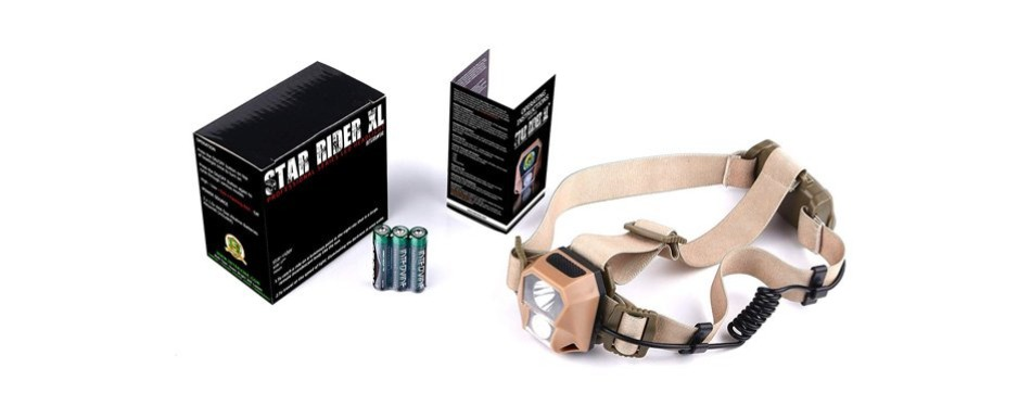 Internova Best Ultra Bright LED Hunting Head Lamp