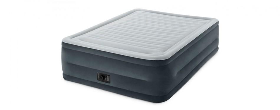 intex comfort plush elevated dura-beam airbed inflatable mattress