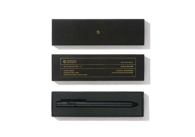 Inventery Onyx Bolt Action Pen