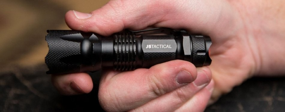 J5 Tactical 300 Lumen Flashlight