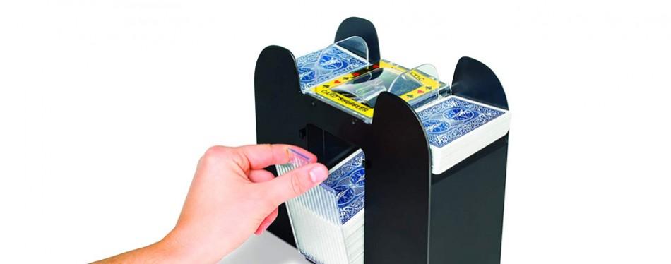 Jobar 6-Deck International Automatic Card Shuffler