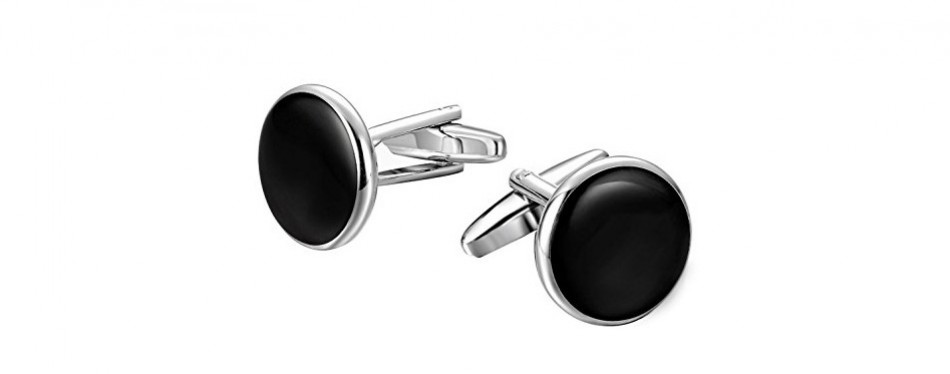 Jstyle Mens Cufflinks and Studs Set