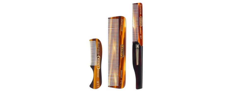 Kent Gentlemen's Comb Set: 81T, FOT, 20T