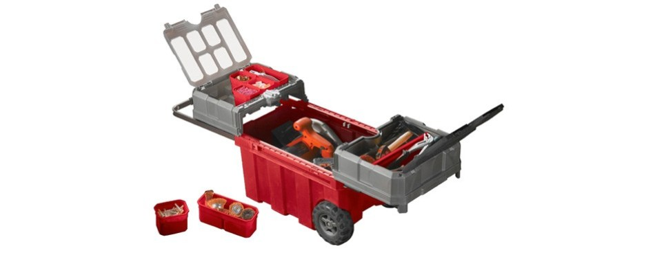 Keter New Masterloader Rolling Tool Box