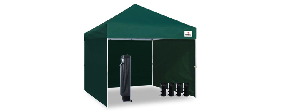 Keymaya 10x10 Ez Pop Up Canopy