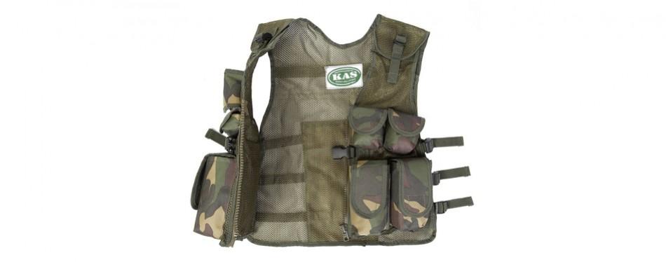 Kids Army Camouflage Combat Vest