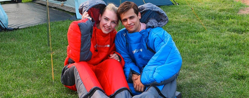 KingCamp Standing 3 Season Full Body Wearable Sleeping Bag
