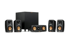 Klipsch Black 5.1 Home Theater System