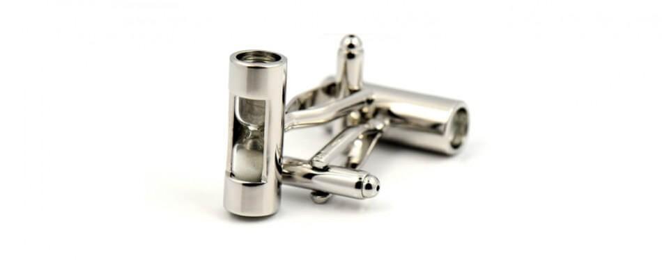 LBFEEL Hourglass Cufflinks for Men