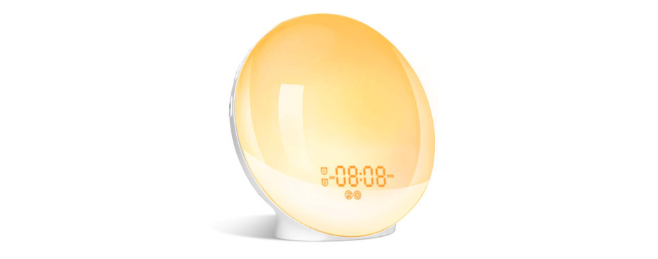 LBell Alarm Clock 8 Colored Sunrise Simulation