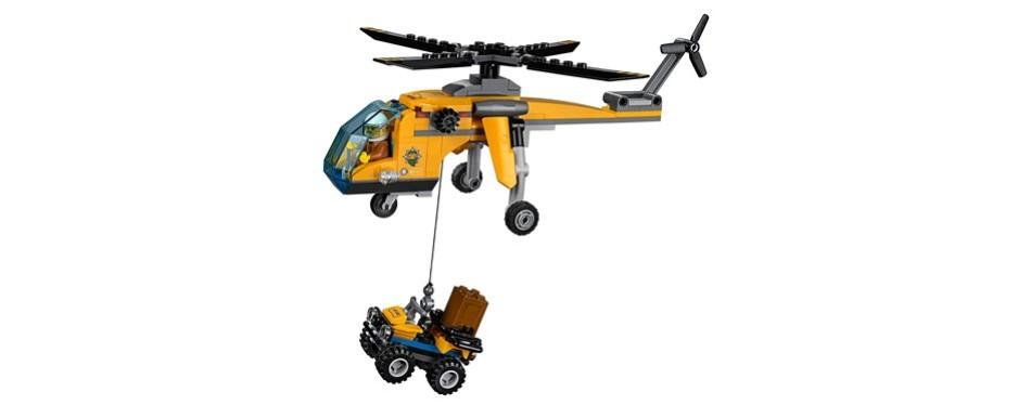 LEGO City Jungle Explorers Jungle Cargo Helicopter