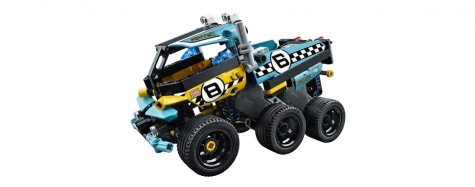 LEGO Technic Stunt Truck Vehicle Set, Building Toy